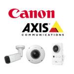 Canon/AXIS社 IPセキュリティカメラ